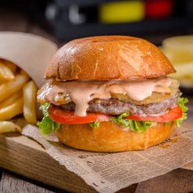 бургер-с-ананасом